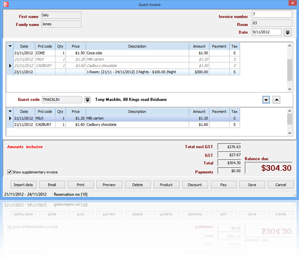 Fake Invoices Templates Excel Screenshots  Reservation Master Motel Hotel Reservation Software Babies R Us Return No Receipt Pdf with Outstanding Invoice Definition Excel Invoices There Are A Total Of  Custom Desinged Invoice Are Available For  You To Chose From These Can Be Printed In A Or A Size And Can Include  Your  Security Deposit Refund Receipt